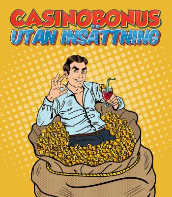 Casinobonus utan insättning - kasinosonline