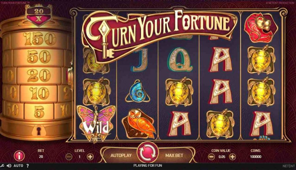 NetEnt slot Turn your Fortune
