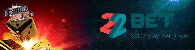 22bet kasino bonus