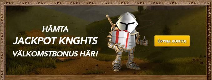 jackpot knights kasino