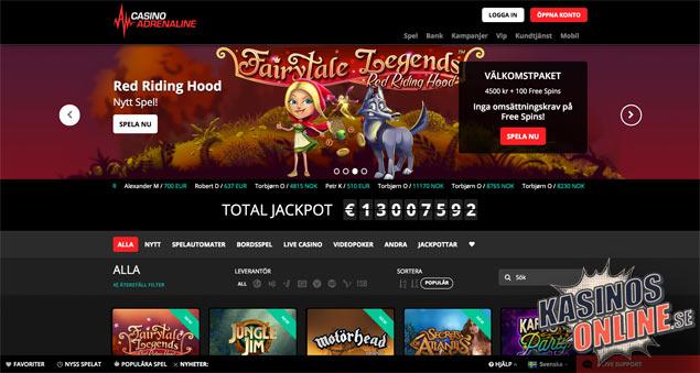 casino adrenaline kasino