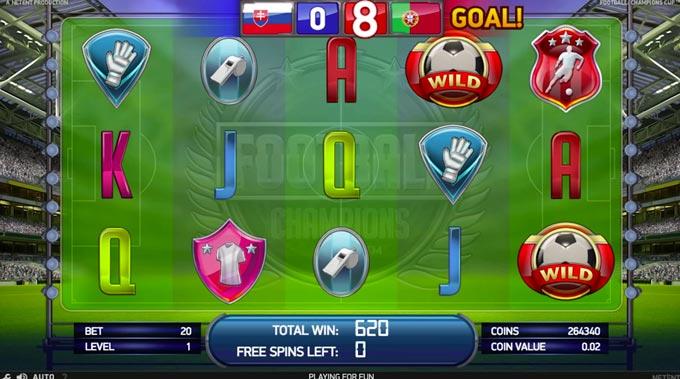 football champions cup netent kasino