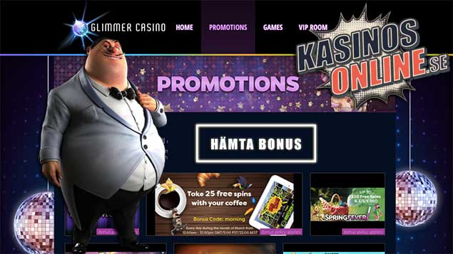 glimmer kasino bonus