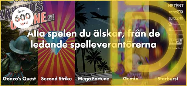 banner dunder kasino spel