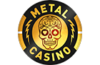 metal casino logo