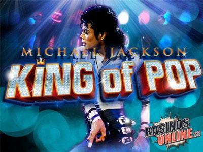 michael jackson king of pop spelautomat