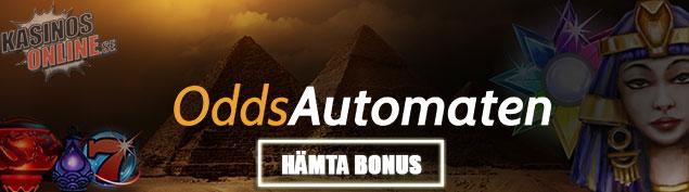 oddsautomaten kasino online free spins bonus