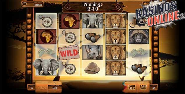 spelautomat safari