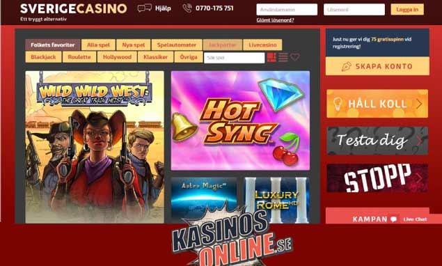 sverige kasino
