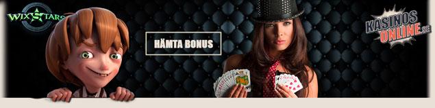 wixstars kasino bonus free spins gratissnurr