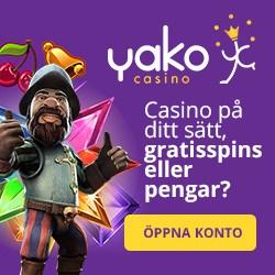 yako kasino gratissnurr pengar